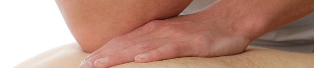 Sports massage banner