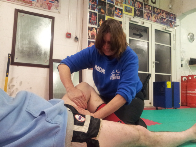 Martial Arts Massage